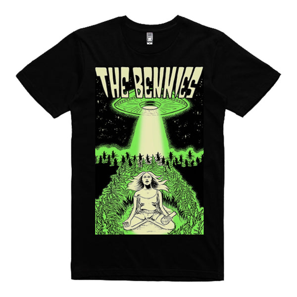 The Bennies - UFO Tee Black
