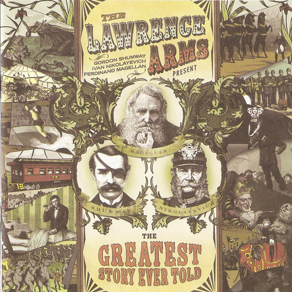 The Lawrence Arms - Greatest Story Ever Told CD