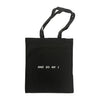 Ali Barter - Ur A Piece of Shit Tote Bag (Black) Back