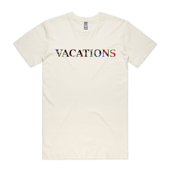 Vacations Logo Tee (Natural)