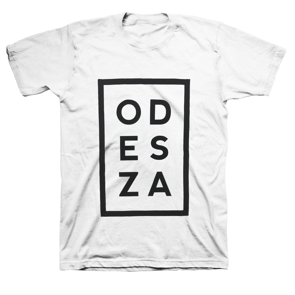 ODESZA - Vertical Logo T-shirt (White)