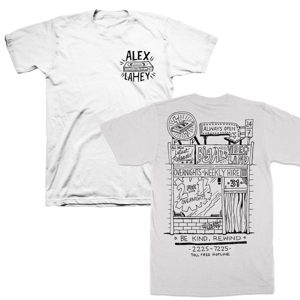 Alex Lahey - Video Tee (White)