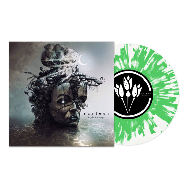 Saviour - A Lunar Rose LP (Clear with Green splatter 180g)