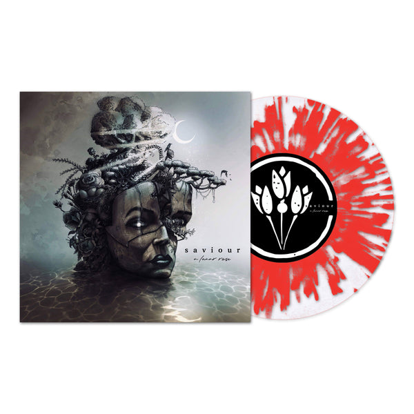 Saviour - A Lunar Rose LP (Clear with Red splatter 180g)