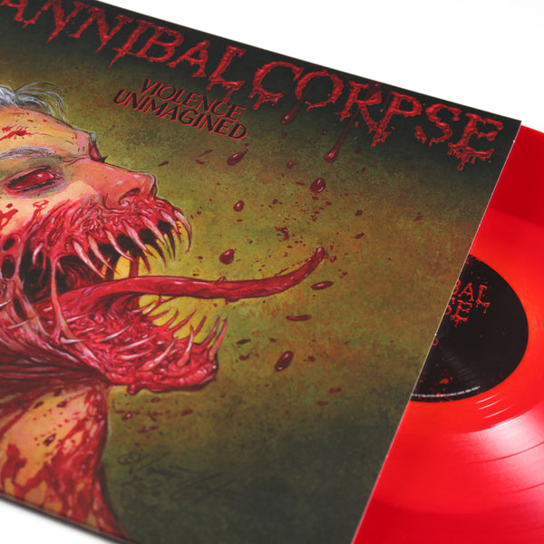 Cannibal Corpse – Violence Unimagined LP (Bone-In-Red)