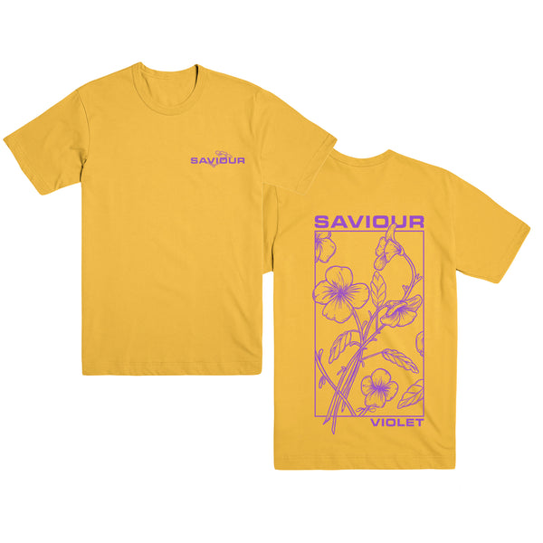 Saviour - Violet T-Shirt (Yellow)