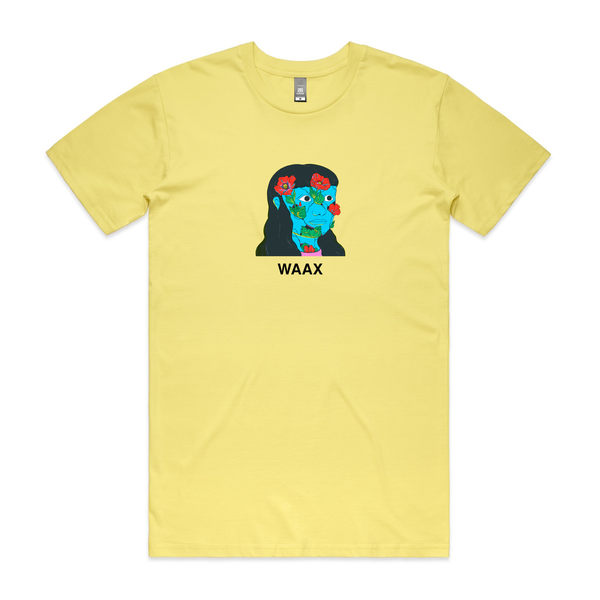 WAAX - Big Grief Tee (Lemon)