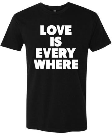 Wilco Love Is Everywhere T-shirt (Black)