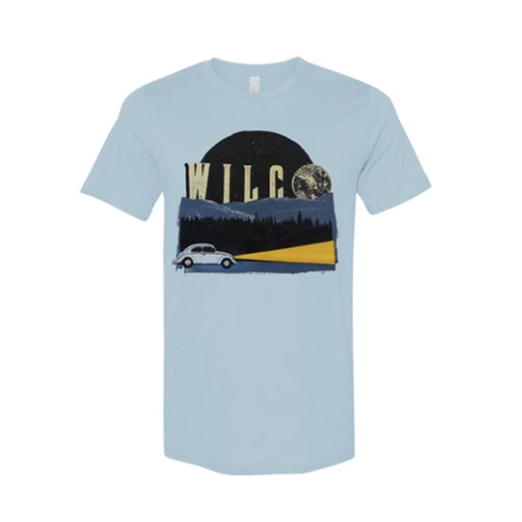 Wilco - Blue Moon T-shirt (Baby Blue)