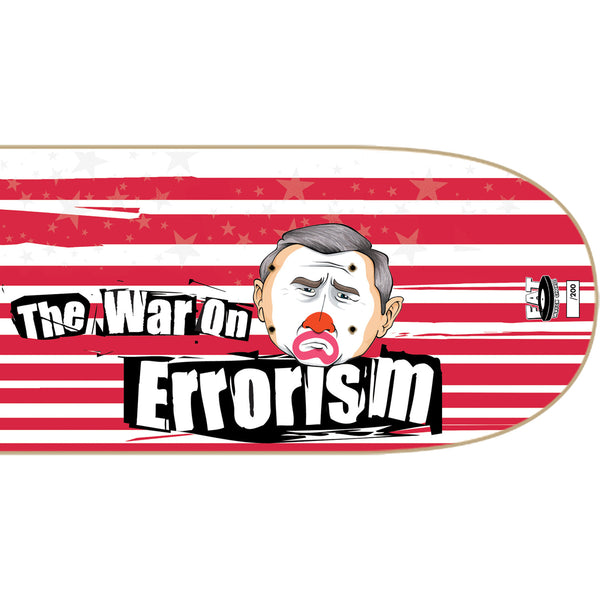 NOFX - War On Errorism Skate Deck (Limited Edition - Bush) Right Detail