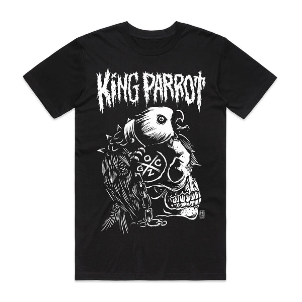 King Parrot - Warhead T-shirt (Black)