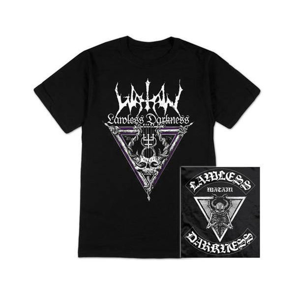 Watain - Lawless Triangle T-shirt (Black)