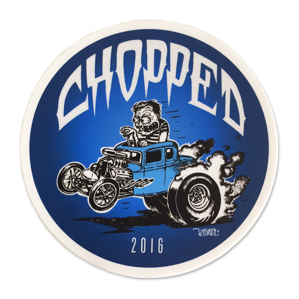 Chopped Weesner Sticker
