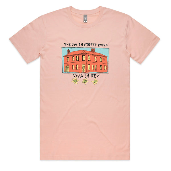 The Smith Street Band - Whole Pub Tee (Pink)