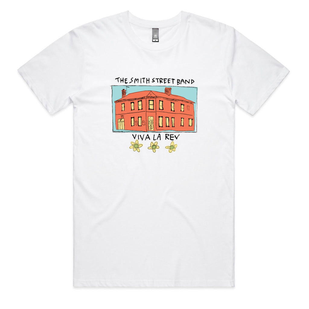 The Smith Street Band - Whole Pub Tee (White)
