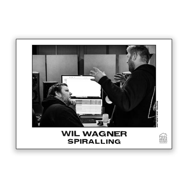 Wil Wagner - Spiralling LP (Translucent Yellow)