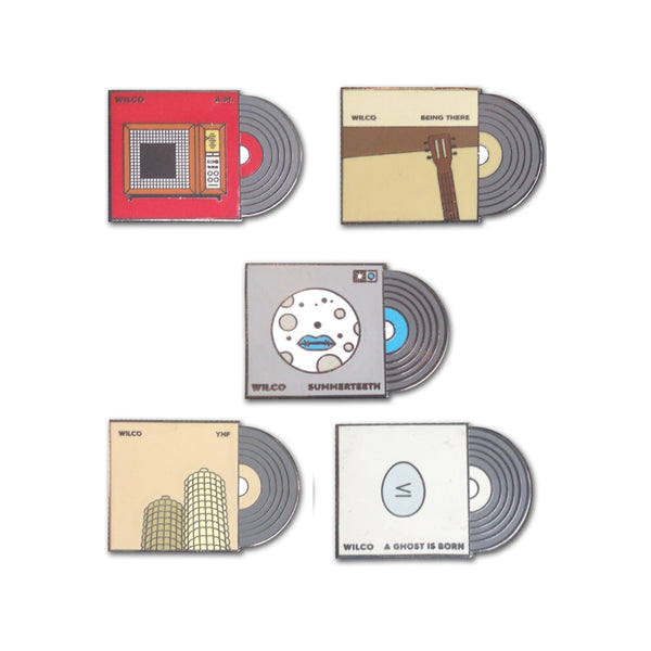 Wilco - Album Lapel Pin Set (pins only)