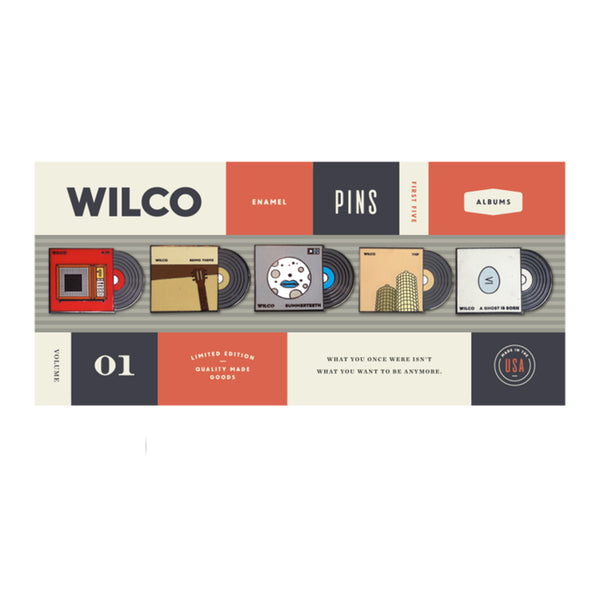 Wilco - Album Lapel Pin Set