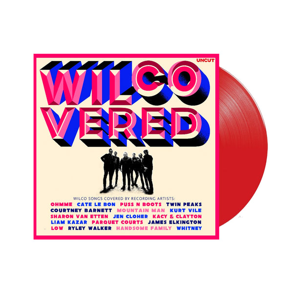 Various Artists - Wilcovered 2LP (Red Vinyl)