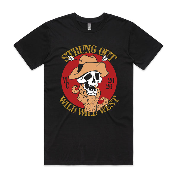 Strung Out - Wild West Tee (Black)