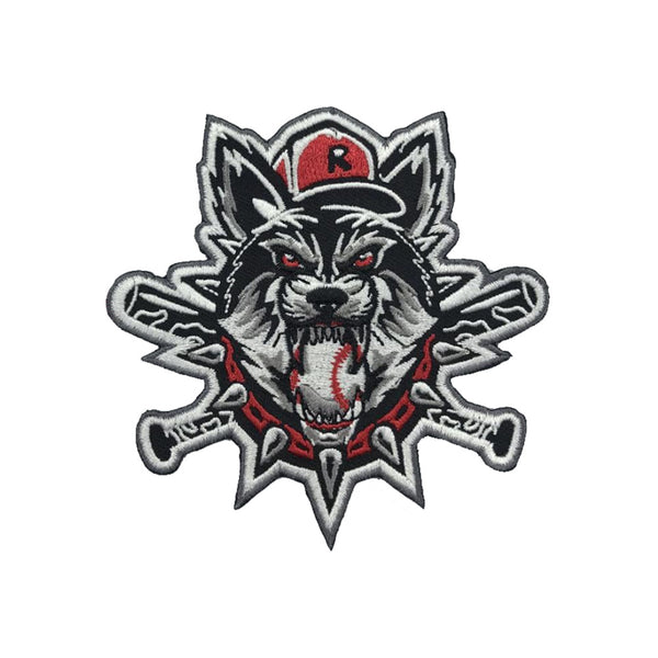 Rancid Wolves Baseball Embroidered Patch
