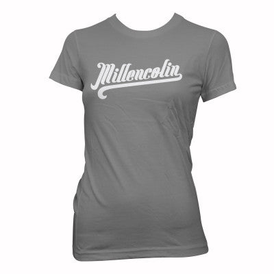 Millencolin Womens Baseball T-shirt Grey