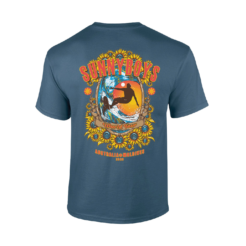 Sunnyboys - World Tour 2020 T-shirt (Indigo Blue) front