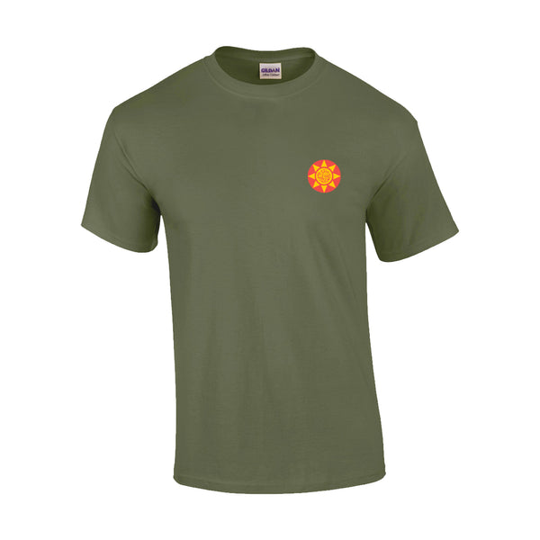 Sunnyboys - World Tour 2020 T-shirt (Military Green) front