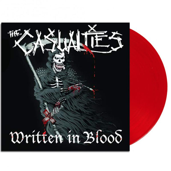 The Casualties - Written In Blood LP (Red)