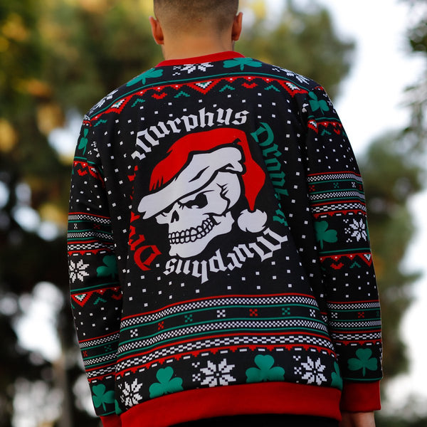 Dropkick Murphys - 2018 Holiday Sweater (Black) photo back