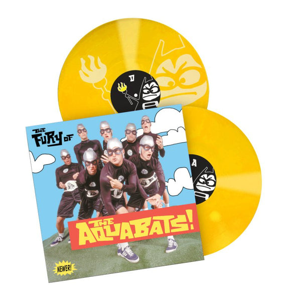 The Aquabats - Fury Of the Aquabats 2LP Remastered (Yellow)
