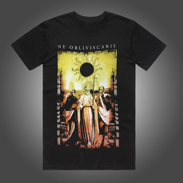 Ne Obliviscaris - Yellow Jesus T-shirt (Black)