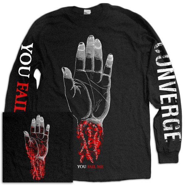 Converge You Fail Me Redux Hand Longsleeve Black