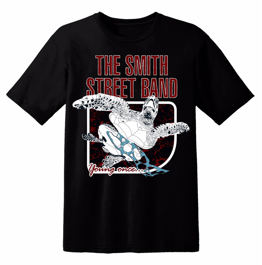 The Smith Street Band - Young Once Tee (Black)