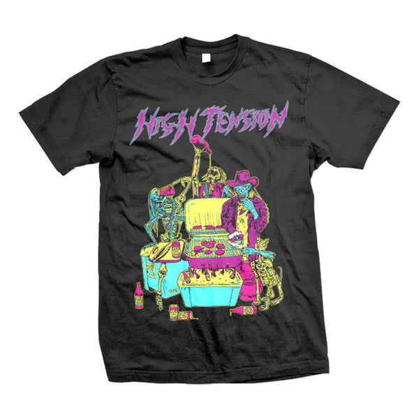 High Tension Zombie BBQ T