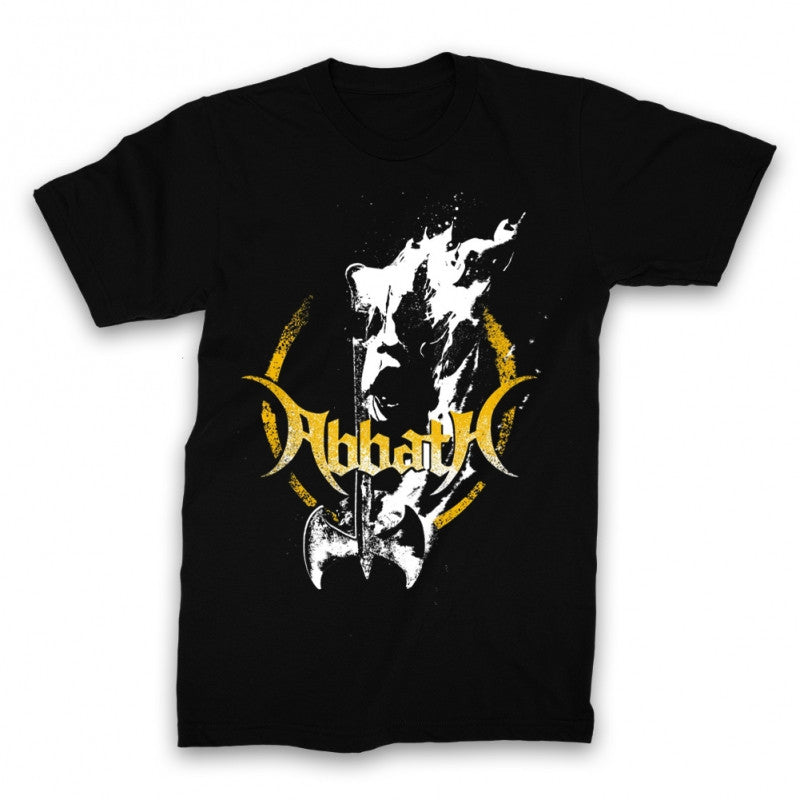 Abbath Fire Axe T-shirt Black