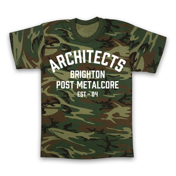 Architects Camo T-shirt
