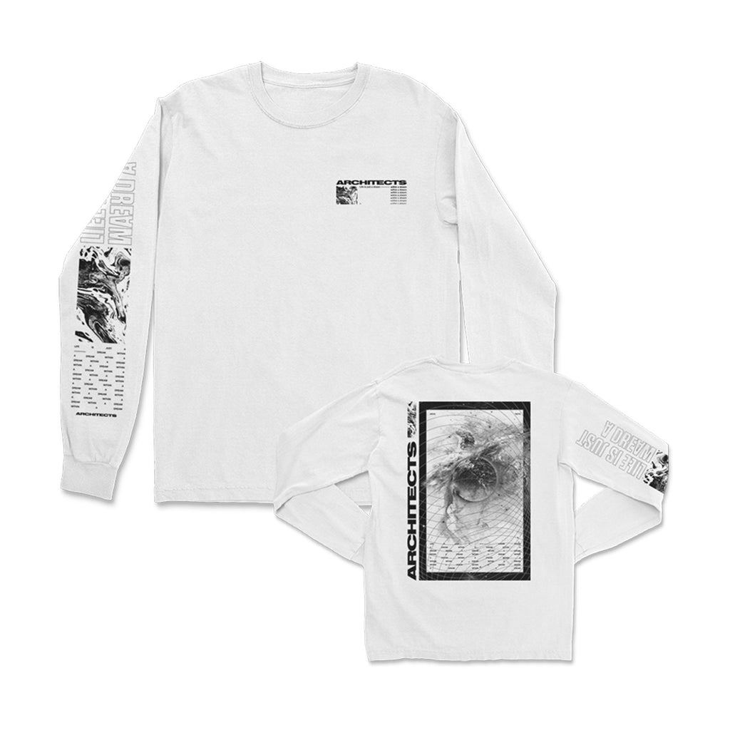 Architects - Dream Within A Dream Longsleeve (White)