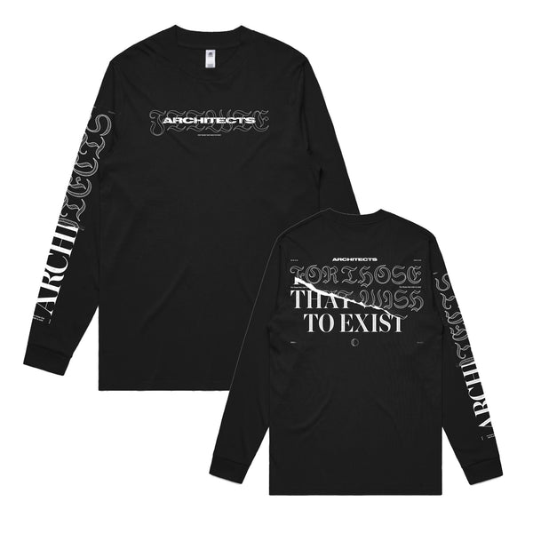 Architects - For Those That Wish To Exist Longsleeve (Black)