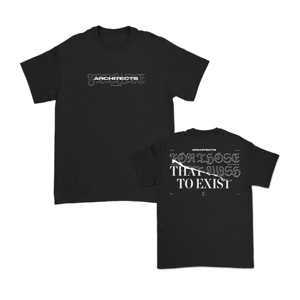 Architects - For Those That Wish To Exist T-shirt (Black)