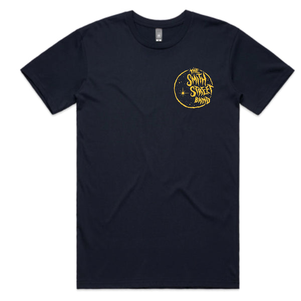The Smith Street Band - Navy Blue Moon Tee (AS Colour)
