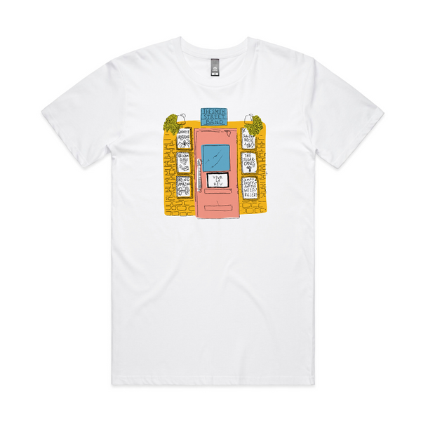 The Smith Street Band - Band Room Door Tee (White)