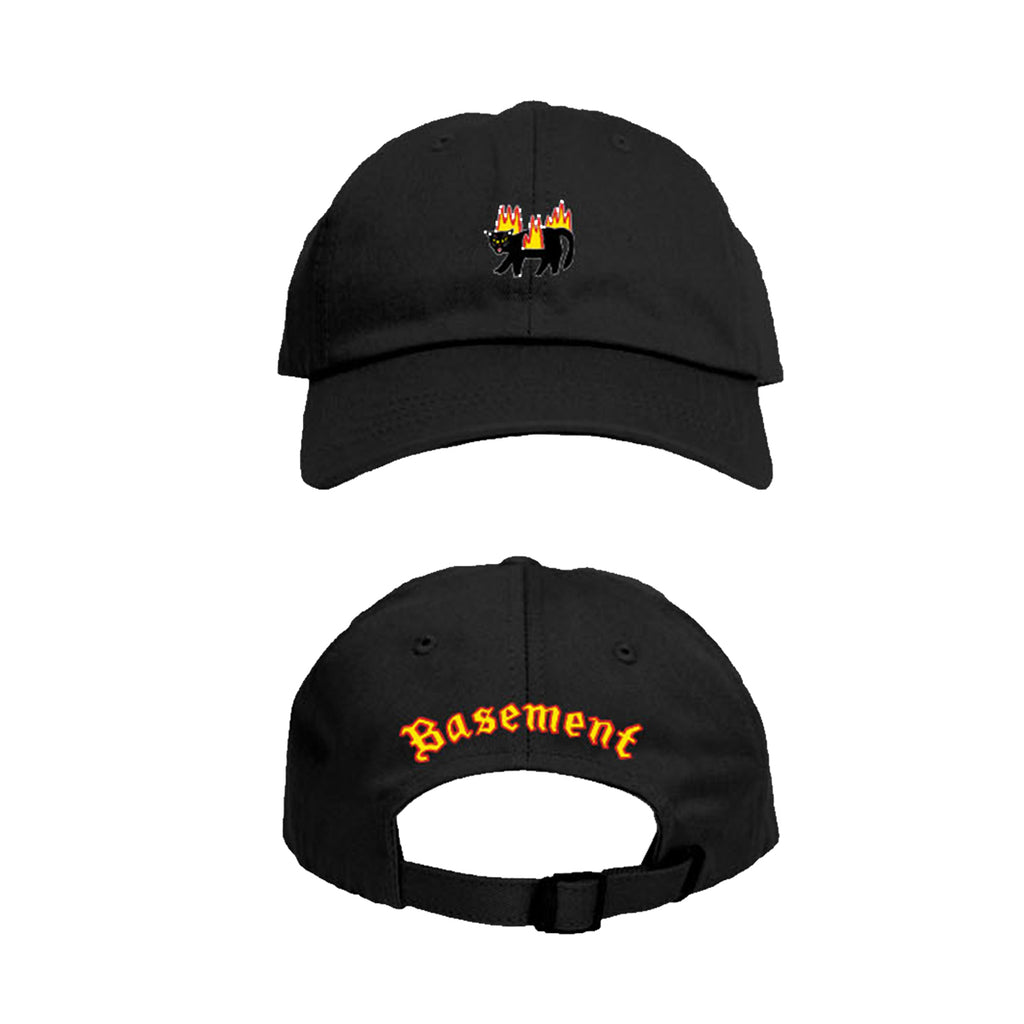 Basement Firecat Hat (Black)