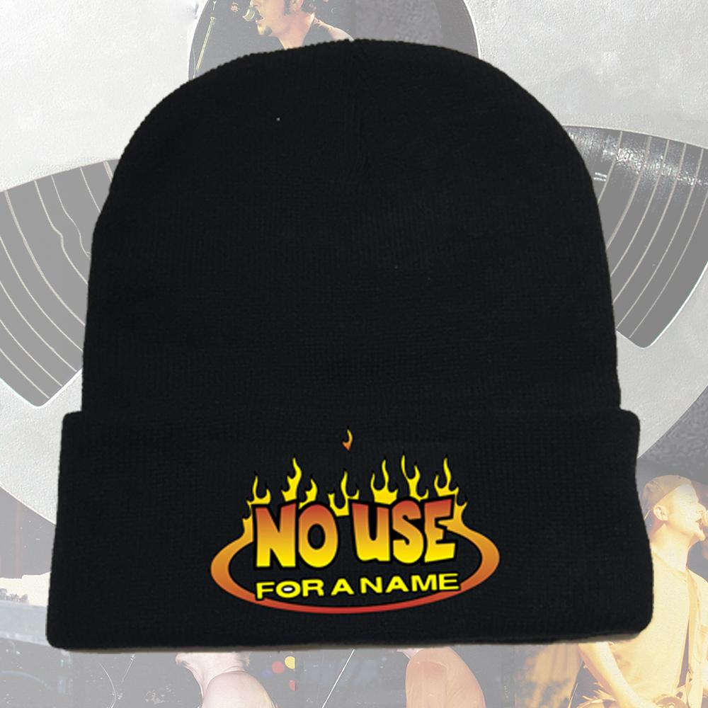 No Use For A Name - Flame Logo Beanie