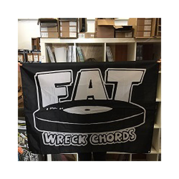 Fat Wreck Chords Flag (Black)