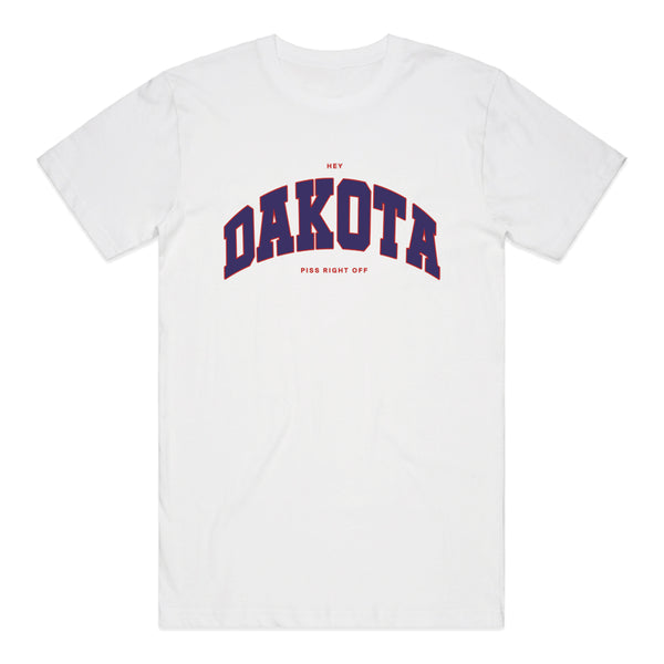Between You And Me - Dakota Tee (White)