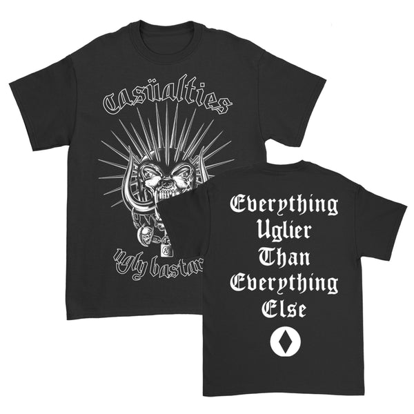The Casualties - Ugly Bastards Tee (Black)