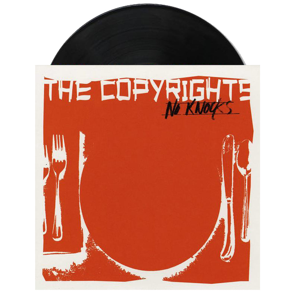 "The Copyrights - No Knocks 7"" (Black)"
