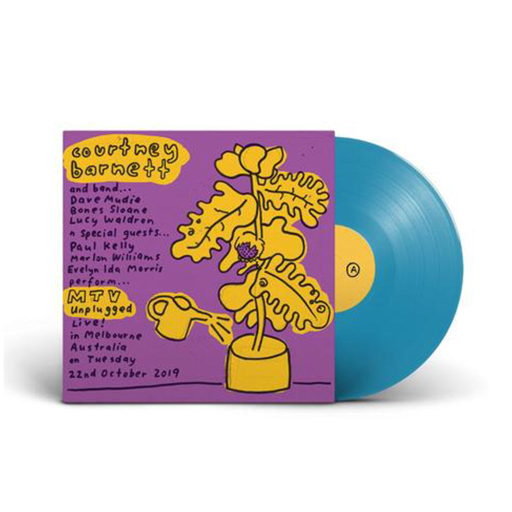 Courtney Barnett - MTV Unplugged (Live In Melbourne) LP (Aqua Blue)
