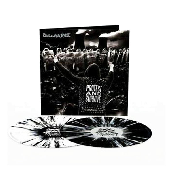 Discharge - Protest And Survive : The Anthology 2LP (Black/White Splatter)